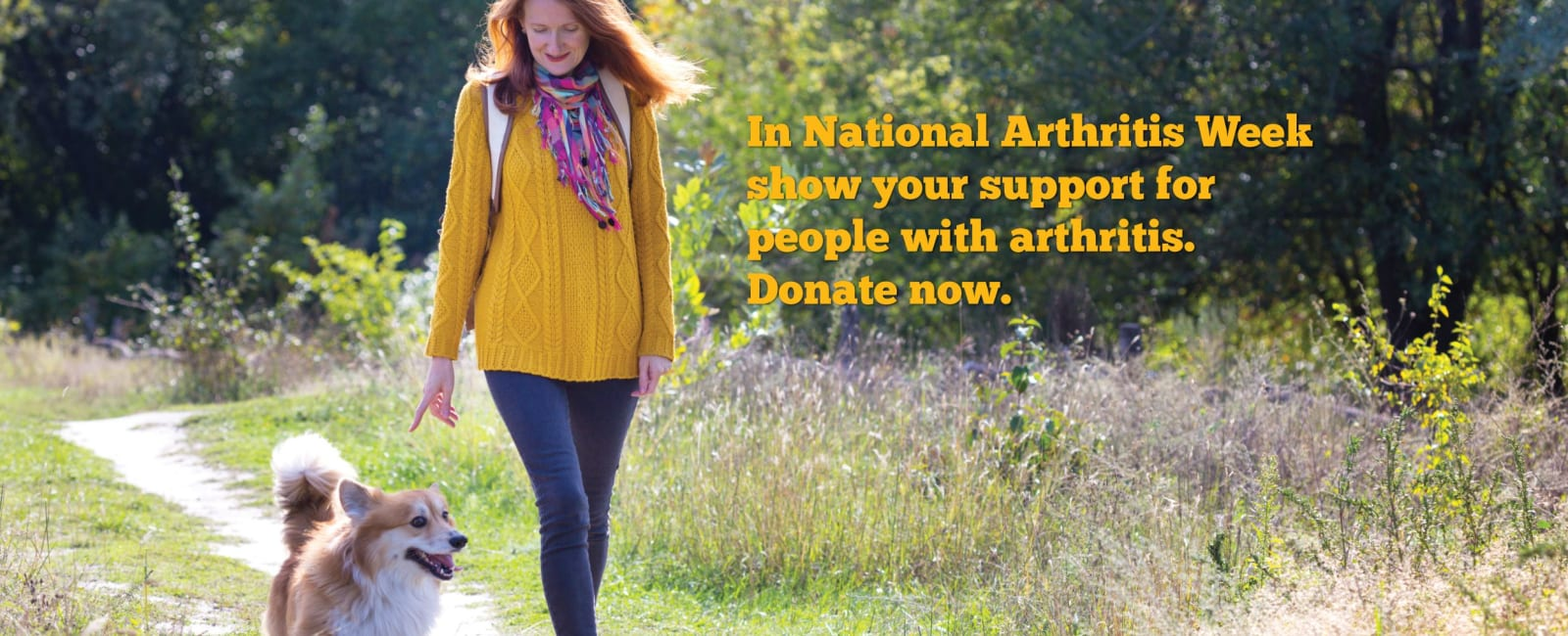 National Arthritis Week appeal