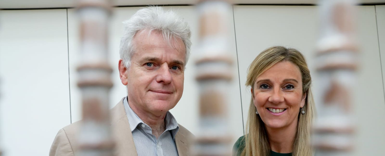 Prof Gerry Wilson, chair of the ARC steering committee, and Gráinne O'Leary, chief executive of Arthritis Ireland