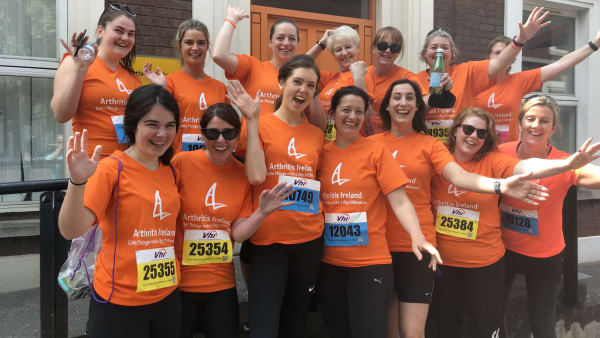 Charity asks people to support Team Arthritis Ireland in Vhi Women's Mini Marathon